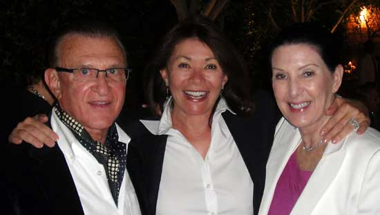 Diva Dr. Joel Lubritz, Gloria Fine, and Carol Lubritz