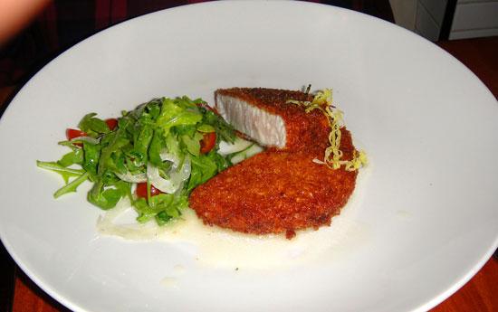 rm Pacific Swordfish Milanese