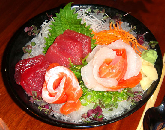 rm Sashimi Platter