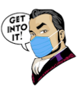 Michael Shulman Avatar with Medical Mask