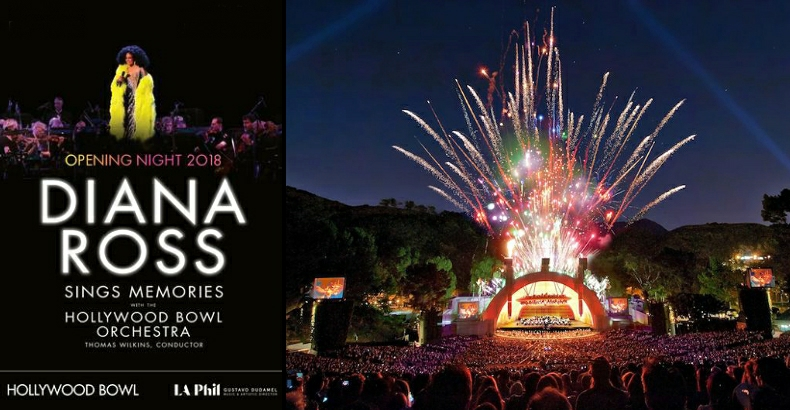 Diana Ross Hollywood Bowl