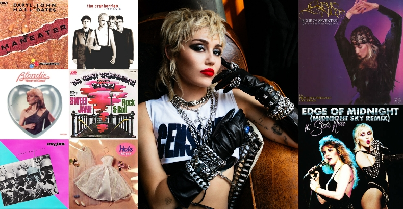 Miley Cyrus covers