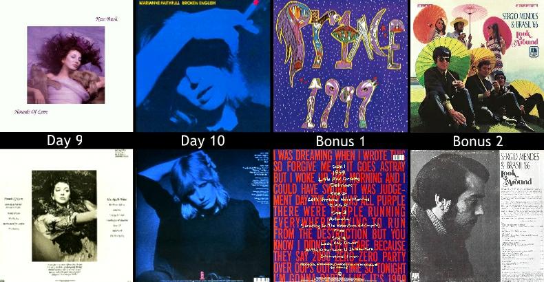 12 Fave Albums